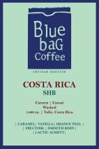 Кафе Blue Bag Costa Rica SHB