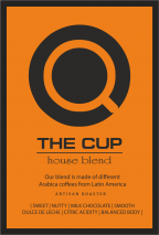 Кафе The CUP Hause Blend by Blue Bag