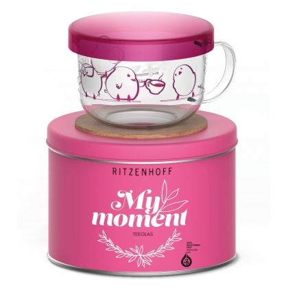 Чаша за чай RITZENHOFF My Moments PINK 450ml