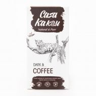 Casa Kakau Черен шоколад Dark & Coffee 70%